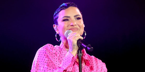 Demi Lovato Says Gender Is A Journey And May Not Always Identify As Non Binary