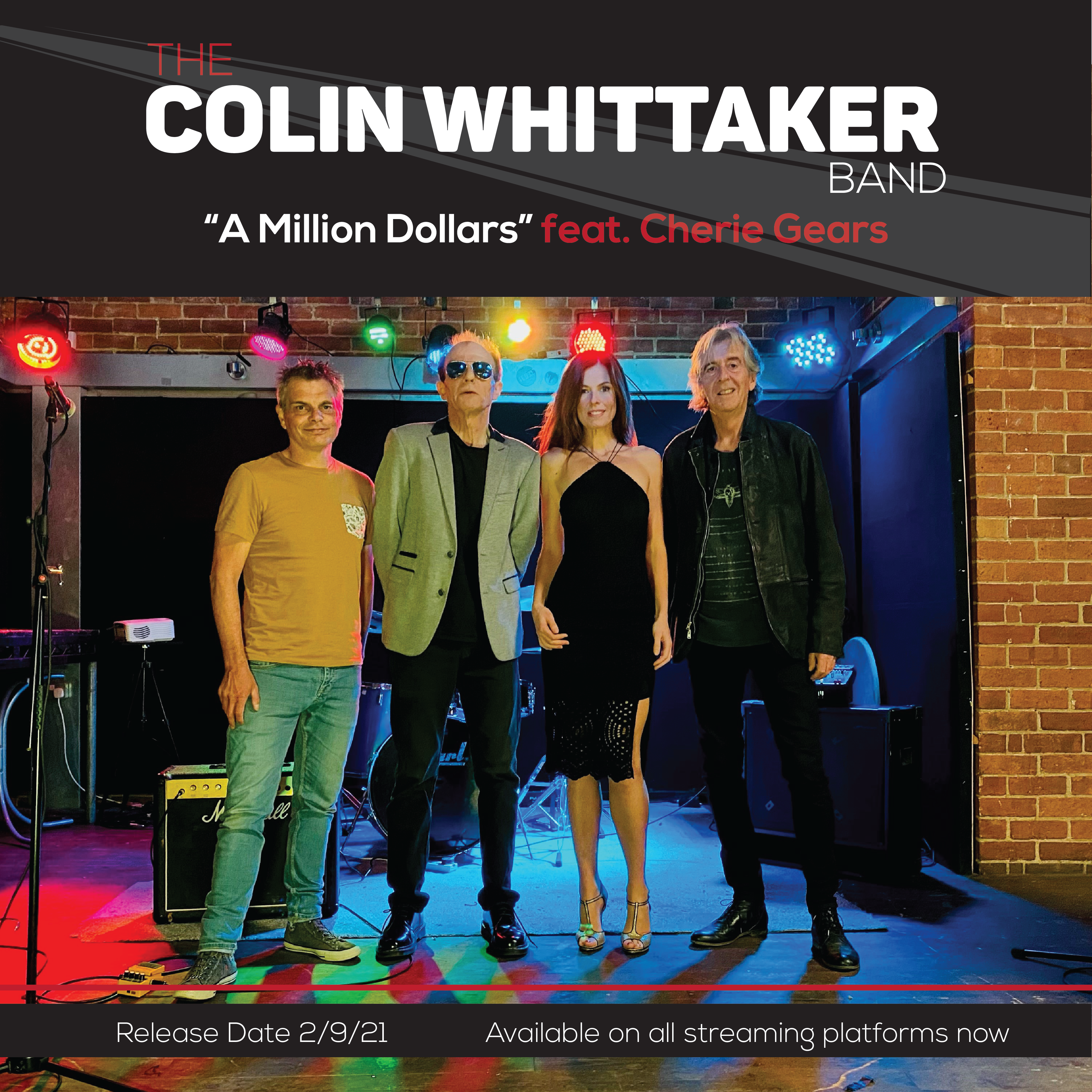 A Million Dollars   The Colin Whittaker Band: Official Live Release